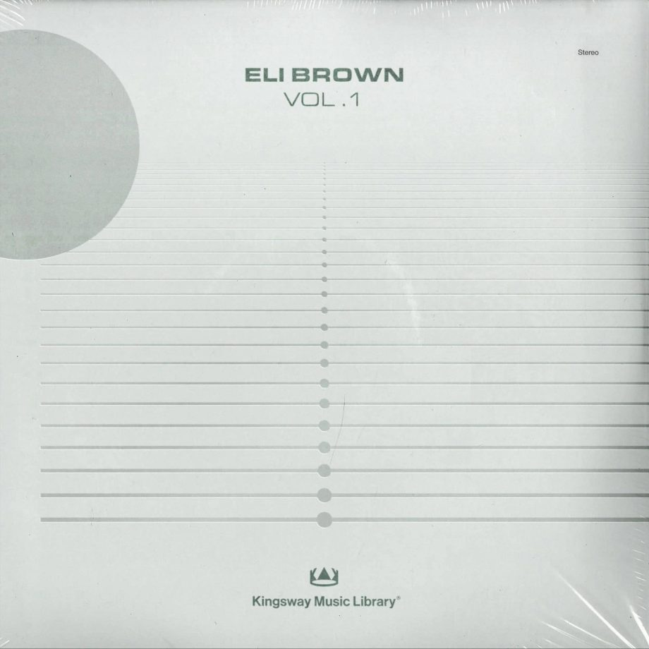 Kingsway Music Library Eli Brown Vol. 1 Compositions and Stems