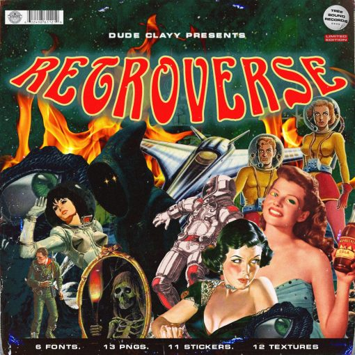 Treesoundrecords Dude Clayy – Retroverse GFX Pack