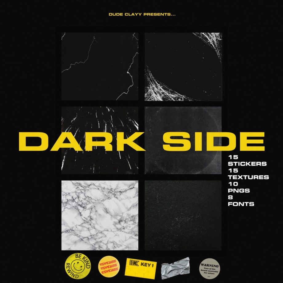 Treesoundrecords Dude Clayy Dark Side GFX PACK