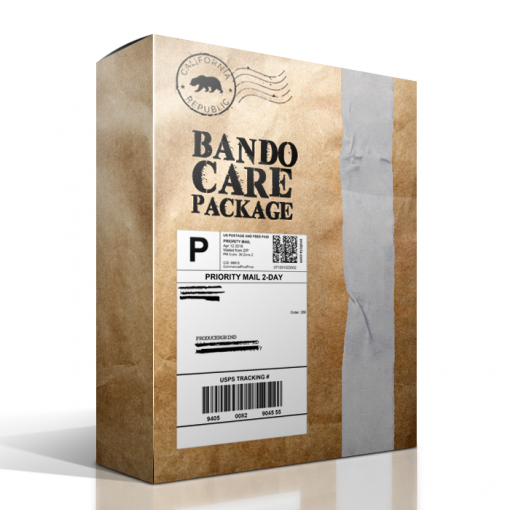 bando care package drum kit