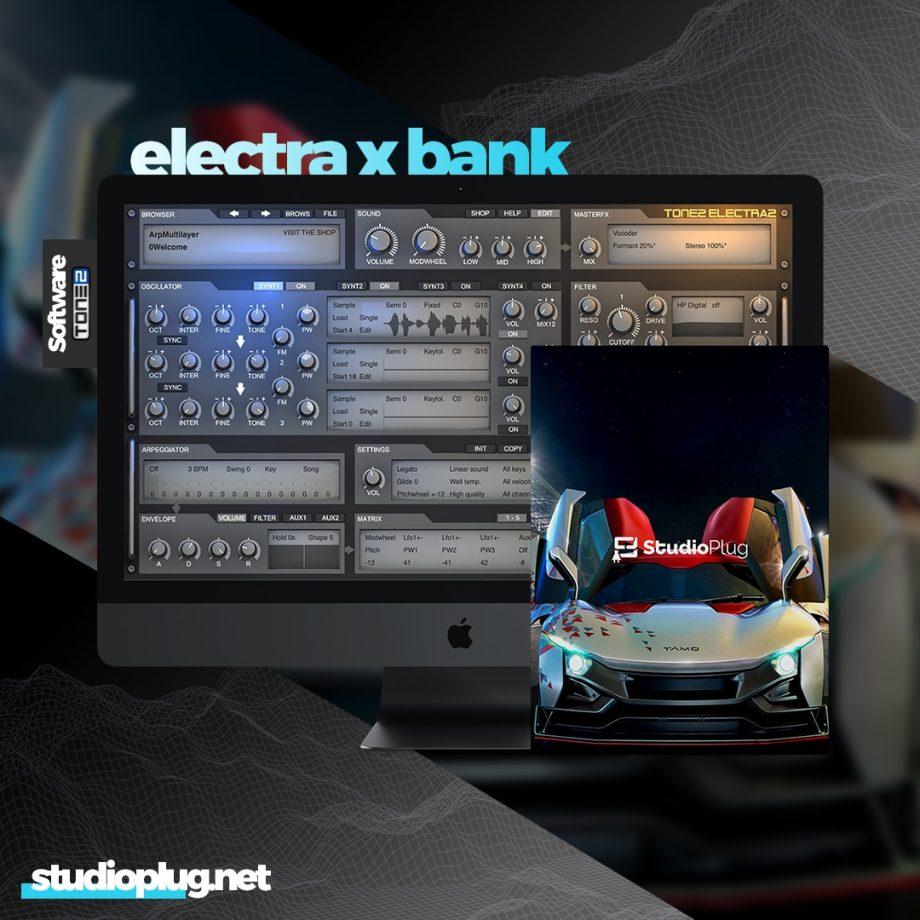 StudioPlug TAMO Electra X Bank