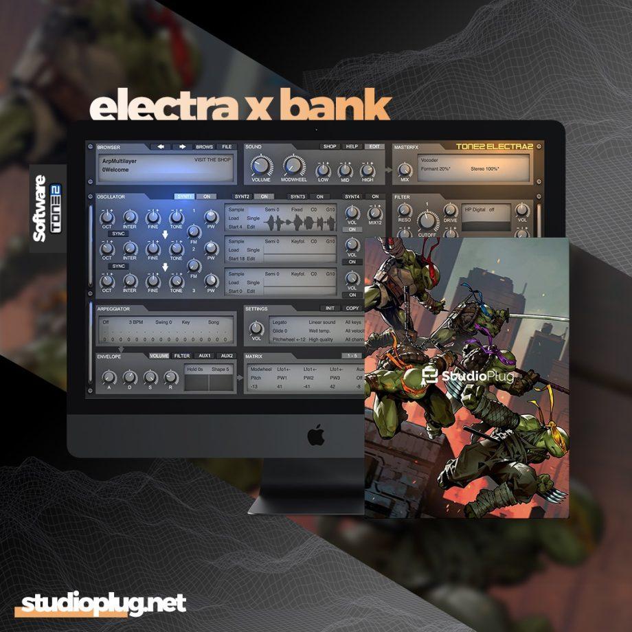 StudioPlug TMNT Electra X Bank