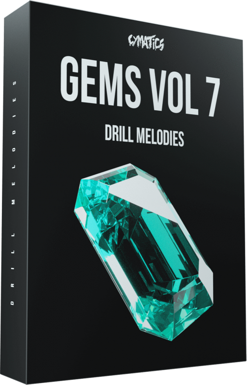 Cymatics Gems Vol. 7 Drill Melodies