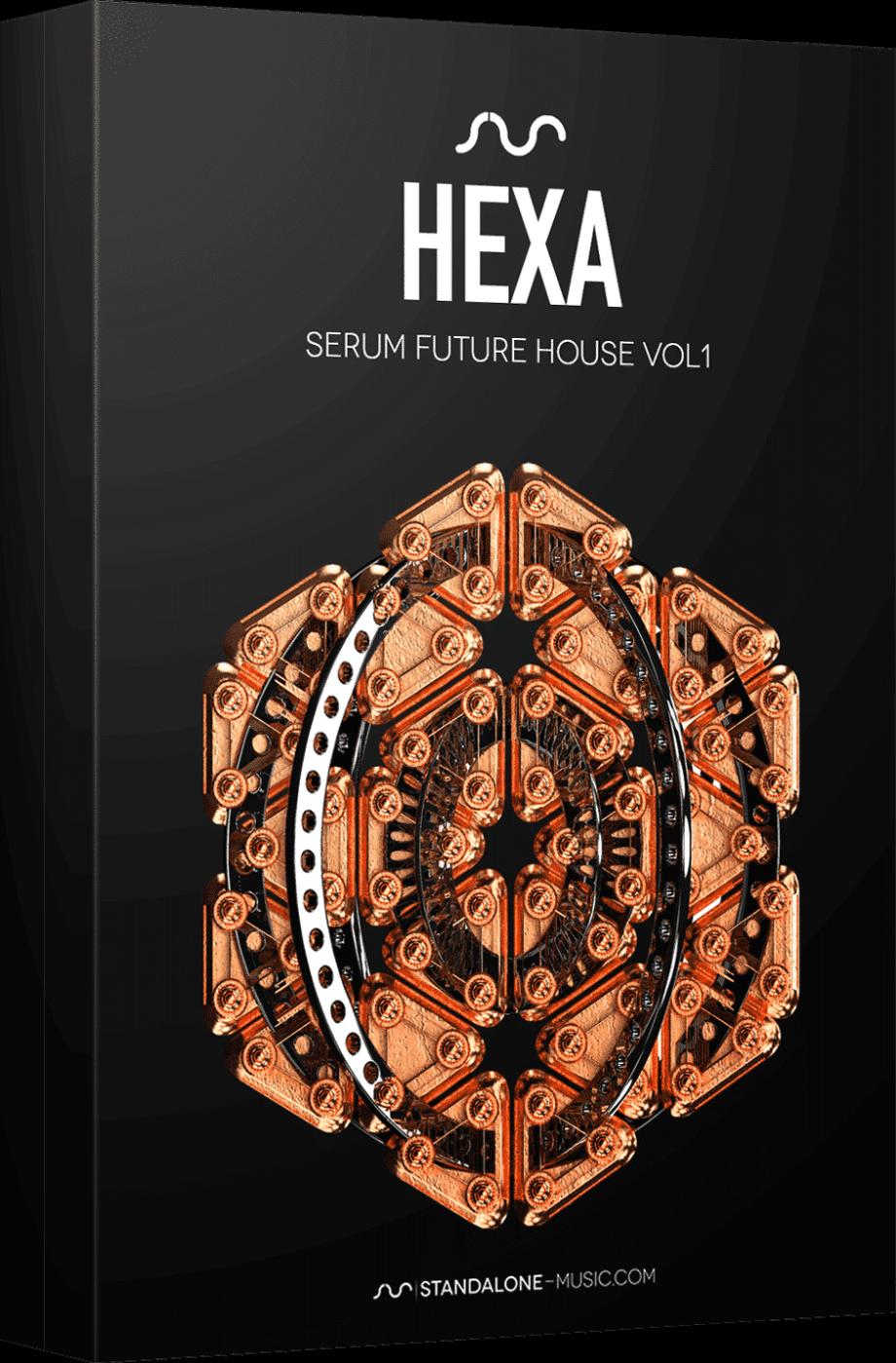 Standalone Music HEXA – FUTURE HOUSE for SERUM Vol 1