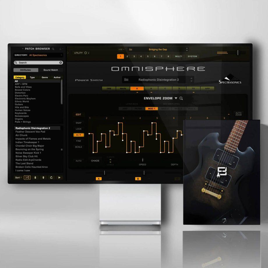 StudioPlug Rockstar V.2 Omnisphere Bank