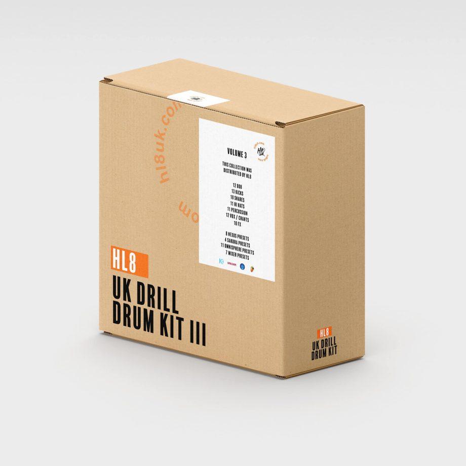 HL8 UK DRILL DRUM KIT VOL 3