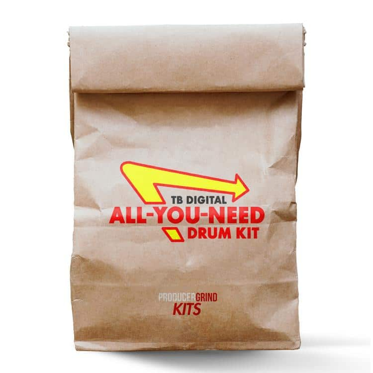 Producergrind TB Digital All You Need Drum Kit Bonus Sample Pack