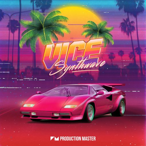 Production Master Vice Synthwave