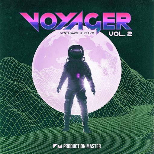 Production Master Voyager 2 Synthwave Retro
