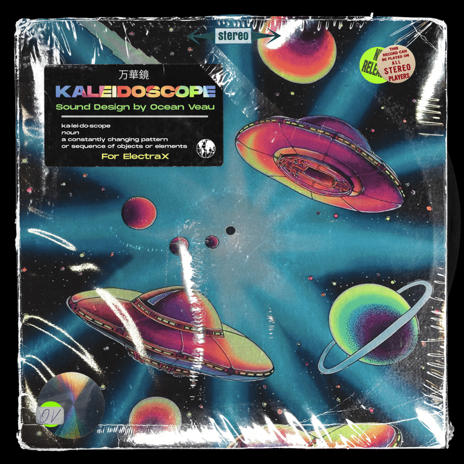 Studio Sounds Ocean Veau Kaleidoscope Electra Bank