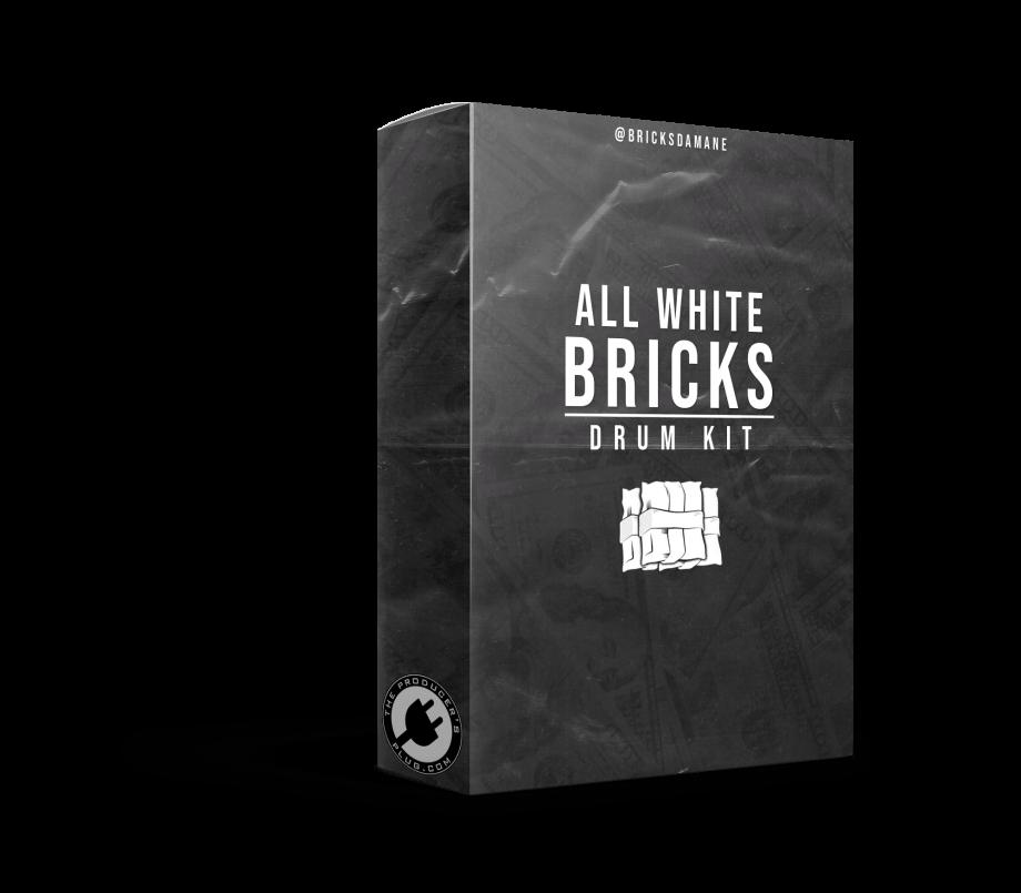 The Producers Plug Bricks Da Mane – All White Bricks Drum Kit