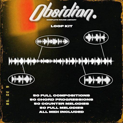 ProdbyJack - Obsidian - Loop & Midi Kit