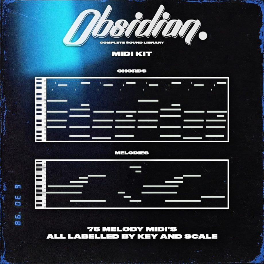 ProdbyJack Obsidian Midi Kit