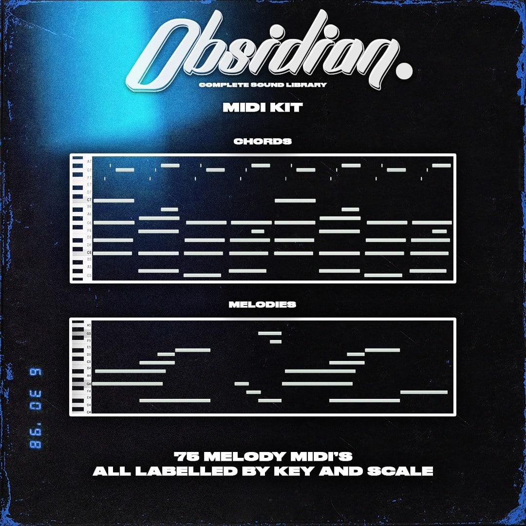 ProdbyJack – Obsidian – Midi Kit
