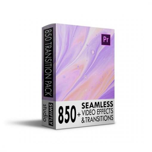 Swiftly Studio 850 Seamless Transitions Pack For Premiere Pro CC