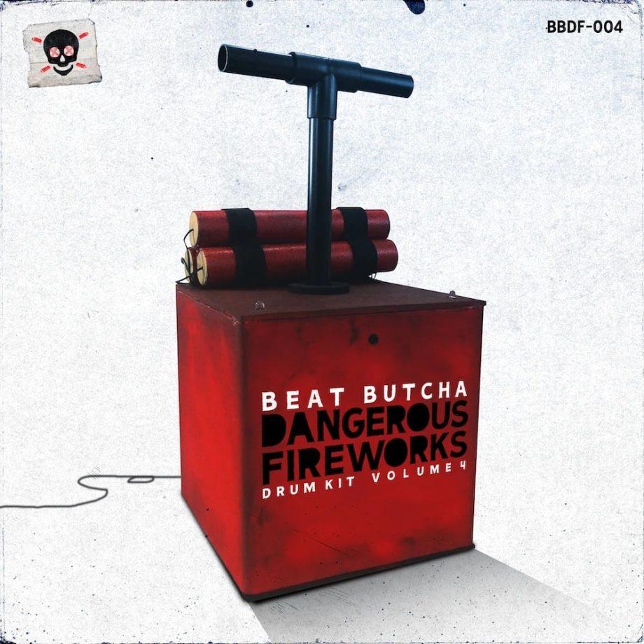 The Drum Broker Beat Butcha Dangerous Fireworks Vol. 4 Drum Kit