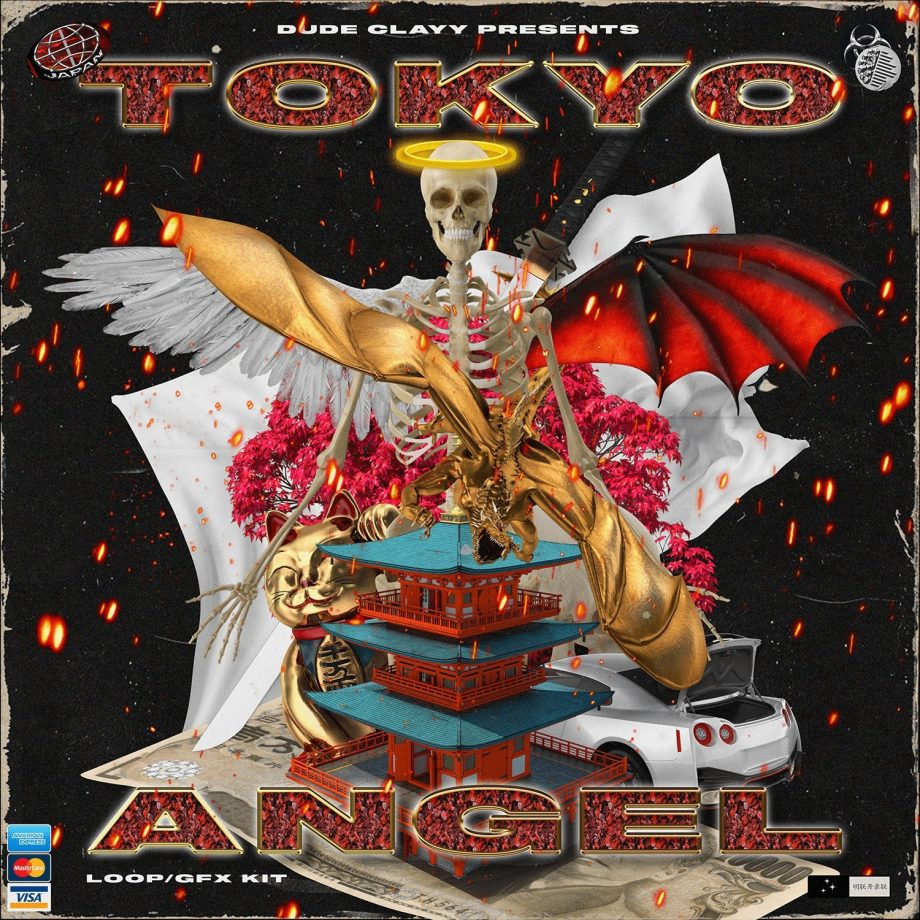 Drumify DUDE CLAYY TOKYO ANGEL GFX LOOP KIT 1