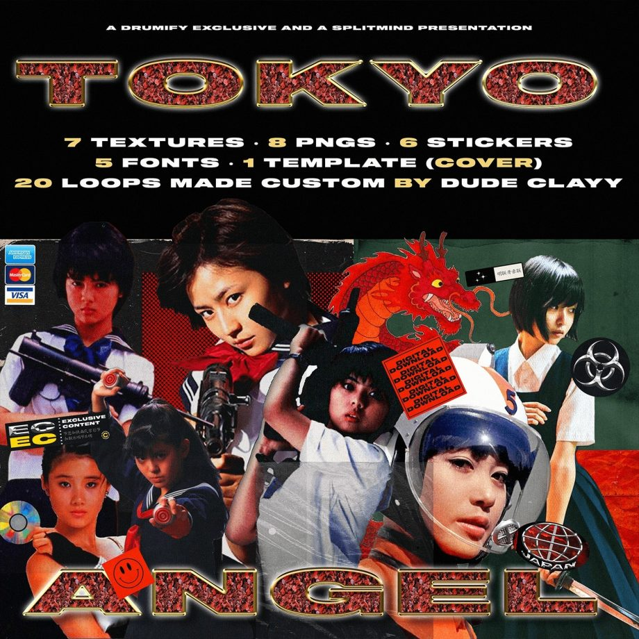 Drumify DUDE CLAYY TOKYO ANGEL GFX LOOP KIT 2
