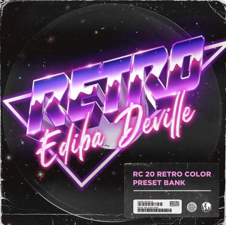 Drumify Ediba Deville – Retro RC 20 Bank