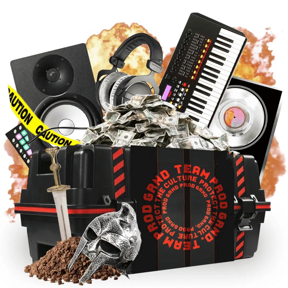 Producergrind Team PG Producer Care Package Season 1