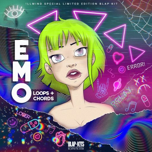 llmind Blap Kits EMO Loops Chords Special Limited Edition