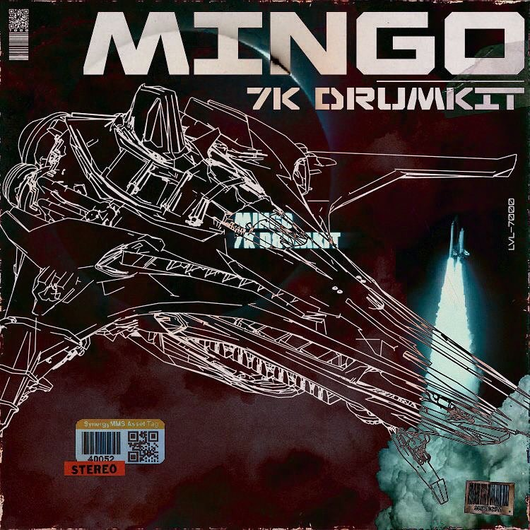 mingo 7k Drum Kit