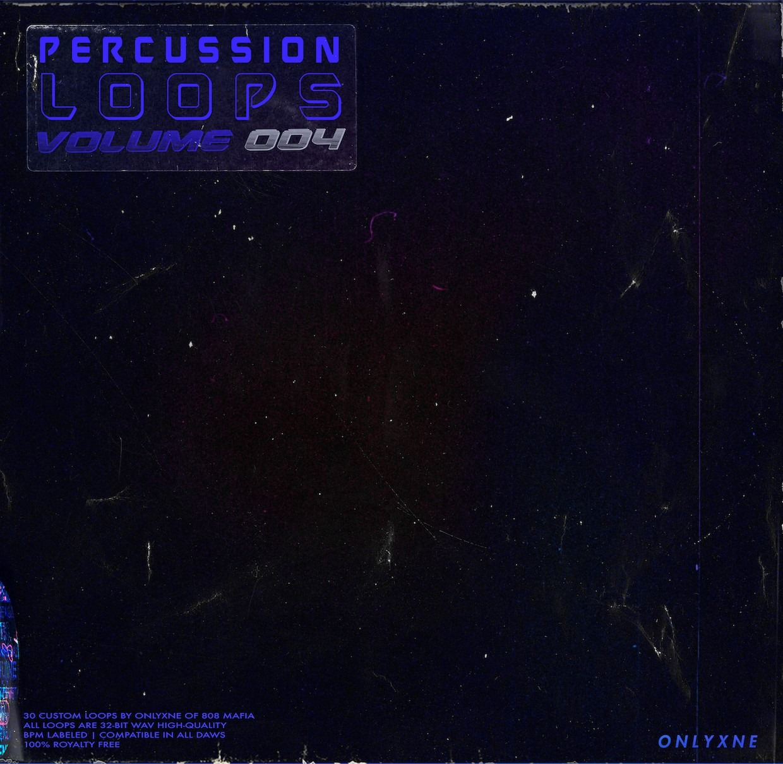 Onlyxne 808MAFIA - Percussion Loops - volume. 4