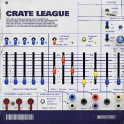 The Drum Broker - The Crate League - OSC (Oscillation) Loop Pack