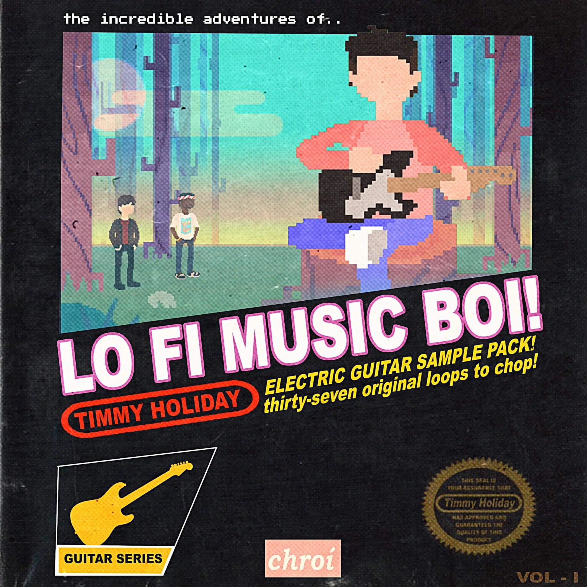 Chroí Music - LO FI MUSIC BOI! - Electric Guitar Sample Pack