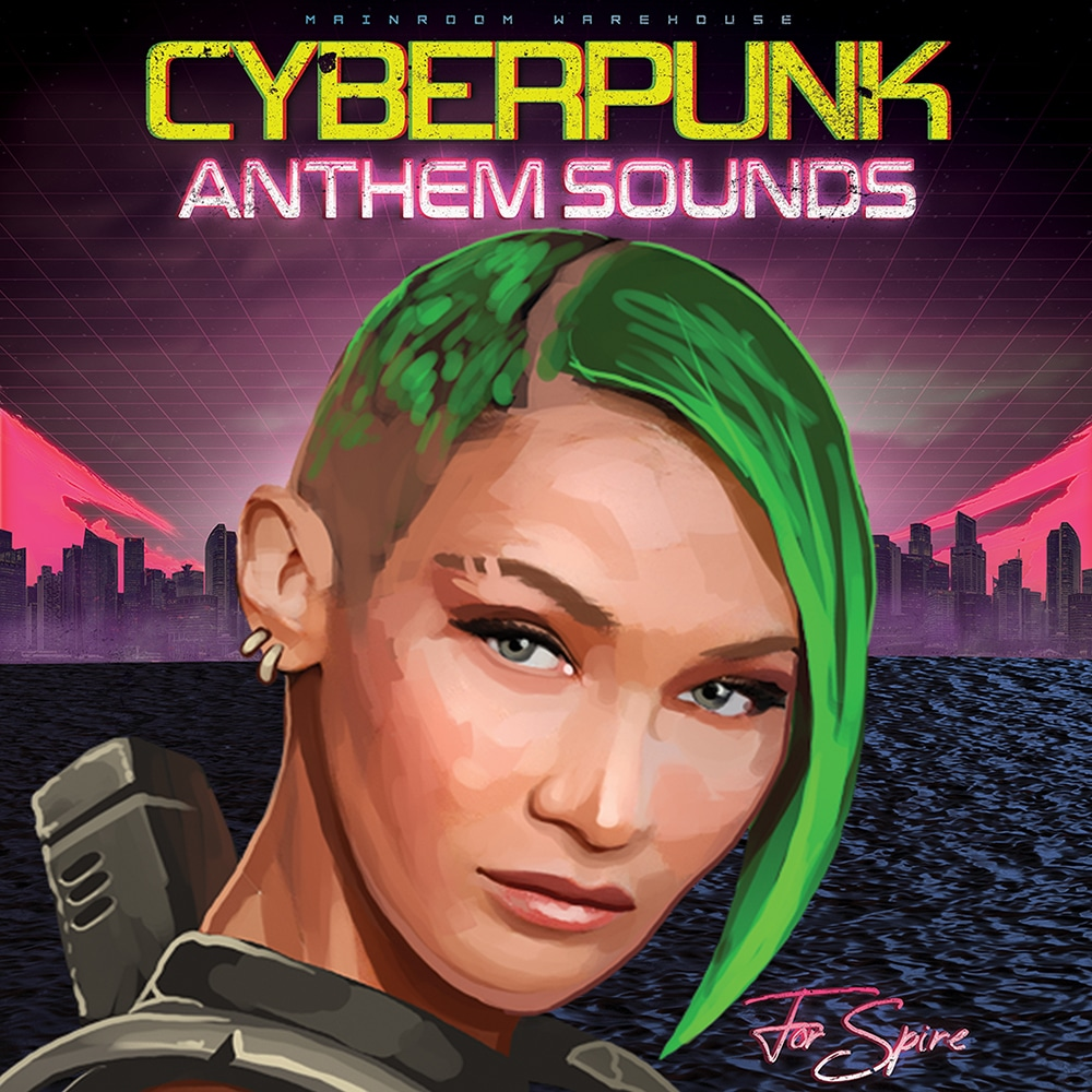 Mainroom Warehouse - Cyberpunk Anthem Sounds For Spire