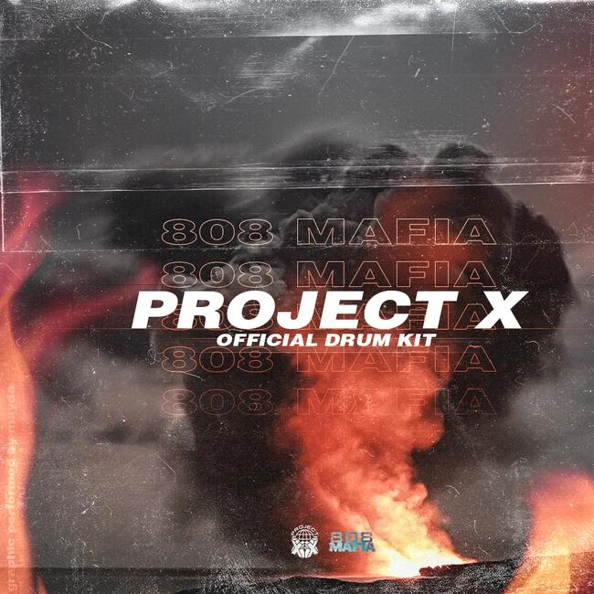 Project X Universe ProjectX 808Mafia Official Drum Kit