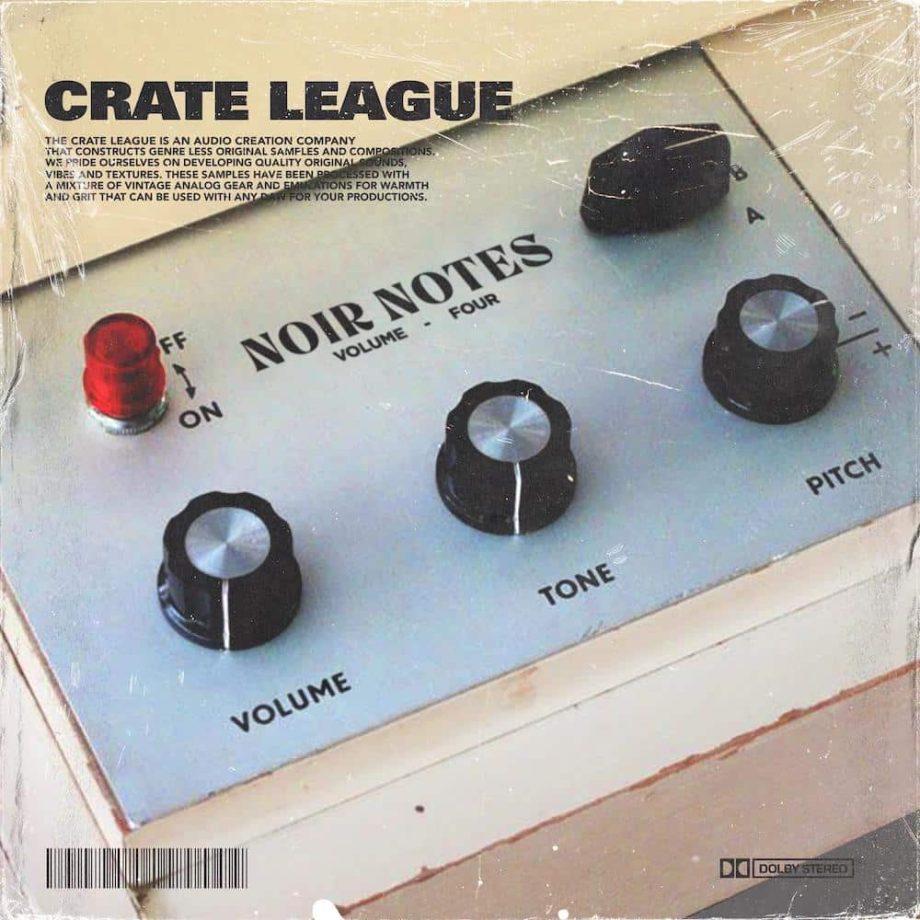 The Drum Broker - The Crate League - Noir Notes Vol. 4 (Compositions & Stems)