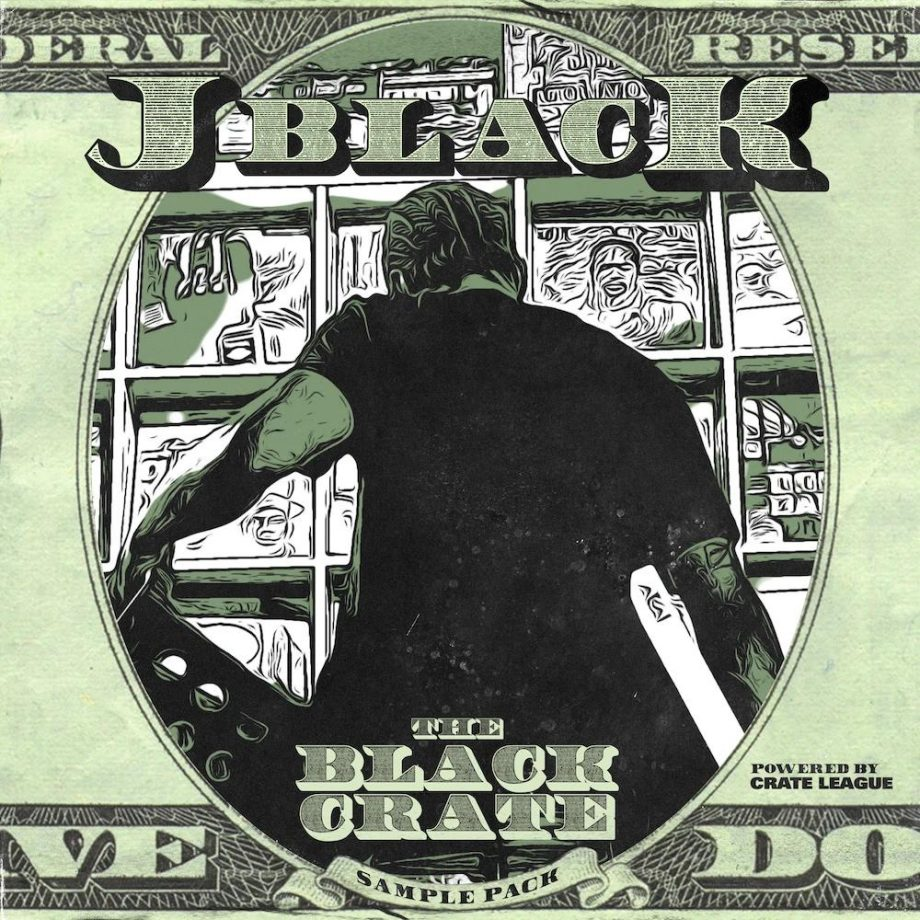 The Drum Broker The Crate League The Black Crate Sample Pack Compositions Stems