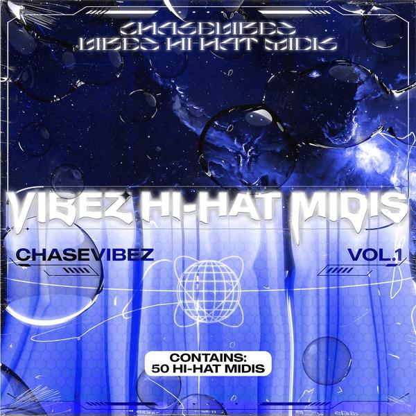 Drumify Chase Vibez – Vibez Hi Hat Midi Vol.1 Midi Kit