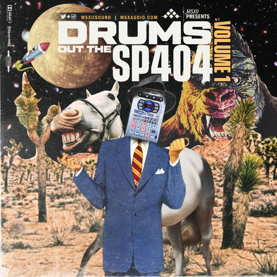 MSXII Sound Drums Out The SP404 Vol. 1