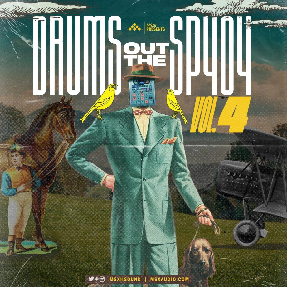 MSXII Sound Drums Out The SP404 Vol. 4