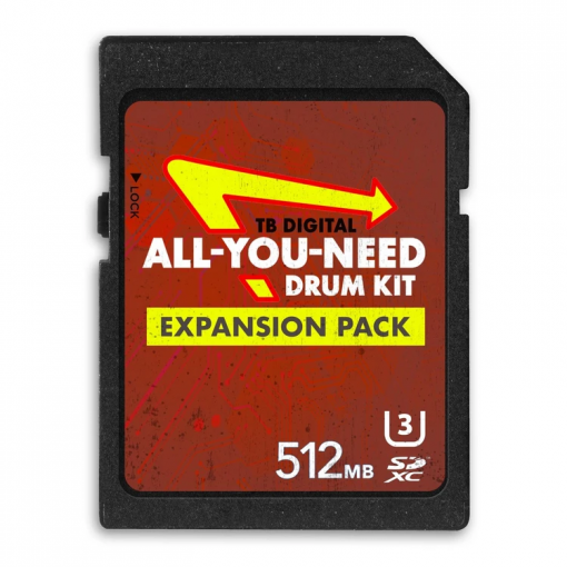 Producergrind - TB Digital 'ALL-YOU-NEED' Drum Kit Expansion