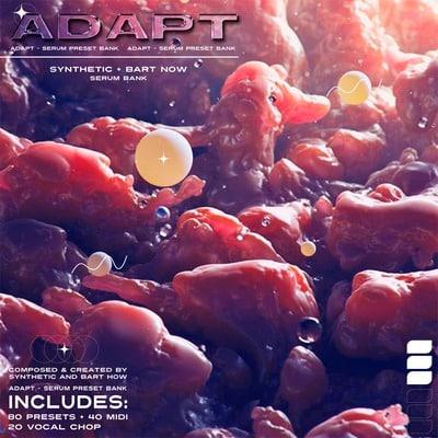 Synthetic x bart how Adapt Sound Kit Serum Preset Bank Midi Vocal Chops