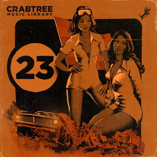The Drum Broker - Crabtree Music Library Vol. 23
