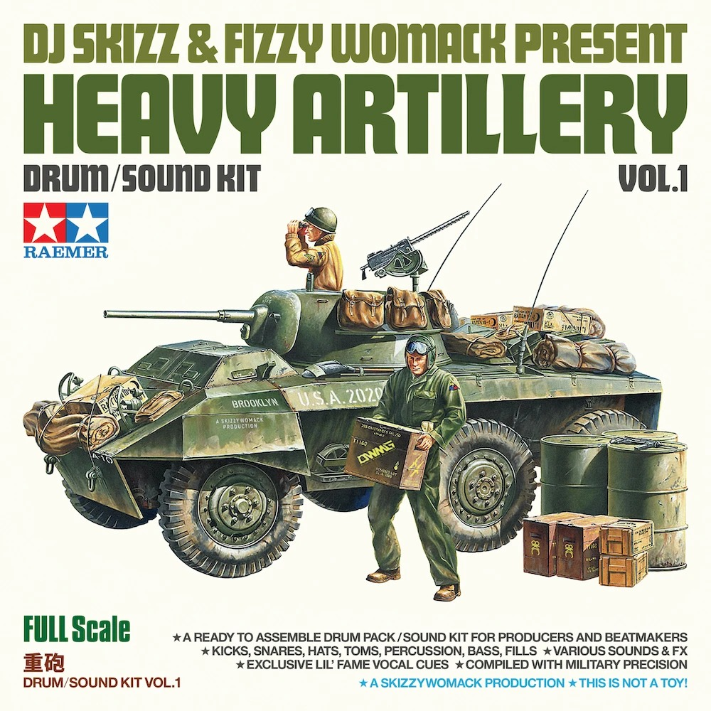 The Drum Broker - DJ Skizz & Fizzy Womack - Heavy Artillery Vol. 1