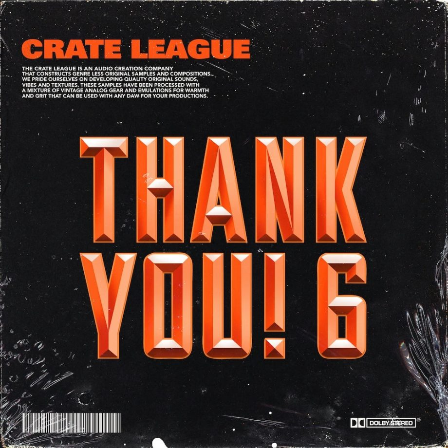 The Drum Broker The Crate League Thank You Vol. 6 Compositions Stems