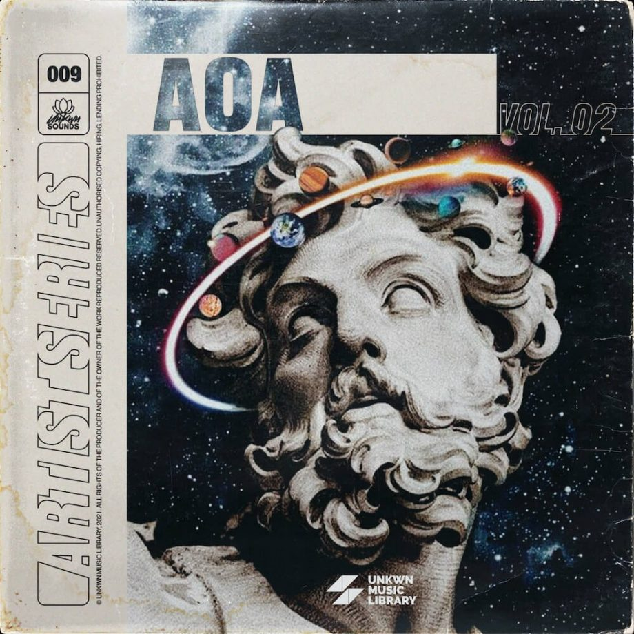 The Drum Broker UNKWN Sounds AOA Vol. 2 Sample Pack Compositions Stems