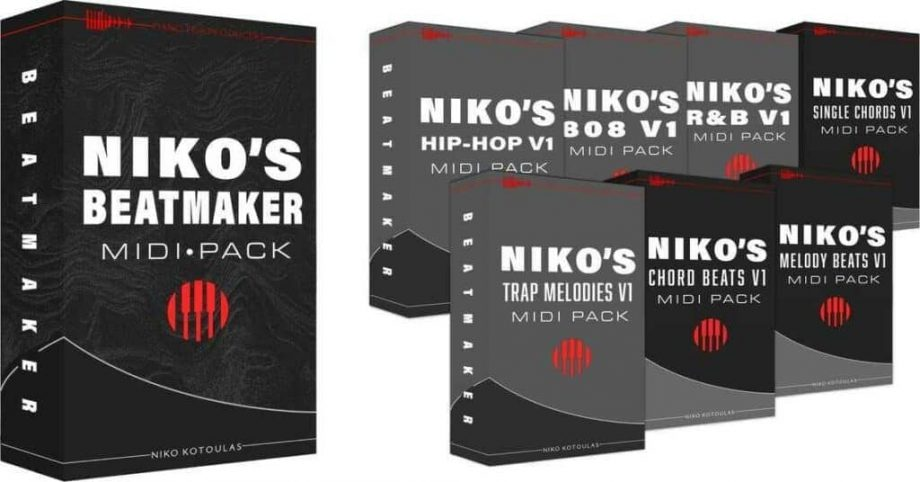 Piano For Producers - Niko's Beatmaker MIDI Pack
