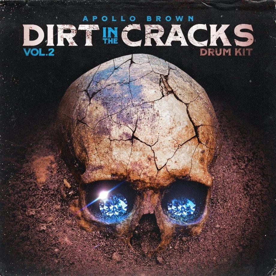 The Drum Broker Apollo Brown Drum Kit Dirt In The Cracks Vol. 2