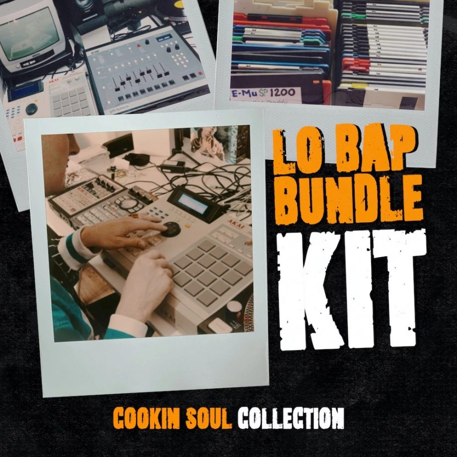 The Drum Broker - Cookin Soul - LO-BAP BUNDLE KIT