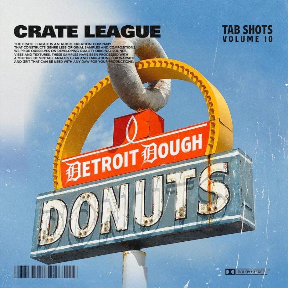 The Drum Broker The Crate League Tab Shots Vol. 10 Detroit Dough