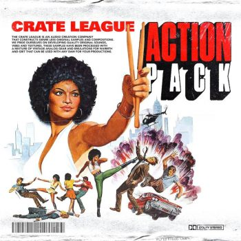 The Drum Broker - The Crate League - Tab Shots Vol. 9 (Action Pack)