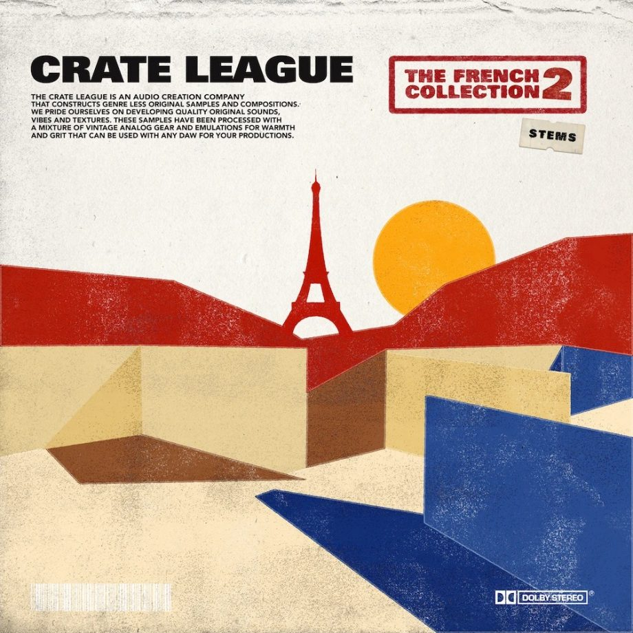 The Drum Broker - The Crate League - The French Collection Vol. 2