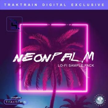 TrakTrain x Splice - Neon Palm Lo-Fi Sample Pack