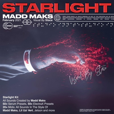 Madd Maks Starlight Serum ElectraX Preset Bank